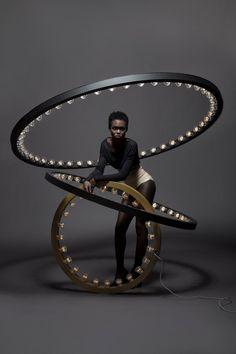 Jasper van Grootel of JSPR has designed a lighting collection named Aura.