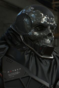"""Skull Cyborg 