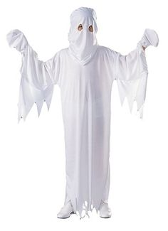 Buy RG Costumes Ghost Costume - Size Child-Medium at UnbeatableSale Halloween Costumes You Can Make, Unique Couple Halloween Costumes, Halloween Costumes Online, Clever Halloween Costumes, Ghost Costumes, Funny Costumes, Halloween Diy, Halloween Parties, Birthday Parties