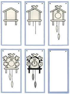 How to Draw a Cuckoo Clock