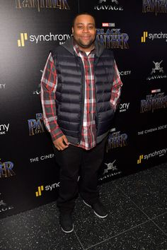 """Kenan Thompson Photos - Comedian Kenan Thompson attends the screening of Marvel Studios' """"Black Panther"""" hosted by The Cinema Society on February 2018 in New York City. - The Cinema Society Hosts a Screening of Marvel Studios' 'Black Panther' Kenan Thompson, February 13, Studio S, Black Panther, Comedians, New York City, Cinema, Marvel, Photos"""