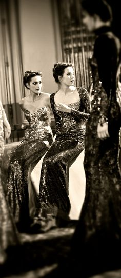Elie Saab - Great behind the scenes candid shot. Wish I knew who took it.