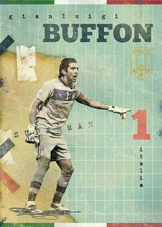 Gianluigi Buffon of Italy wallpaper.