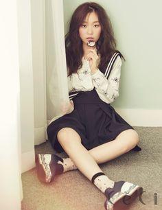 Yoon Hyun Min and Kim Seul Gi - Ceci Magazine November Issue '14