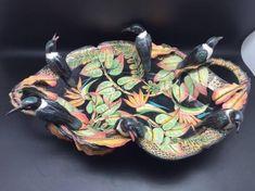 Bird Bowl, Ceramic Sculpture by