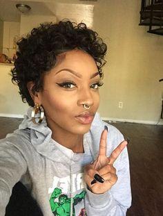 natural short cut hairstyles black women, black hair magazine ...