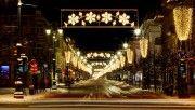 hd winter holidays lights wallpaper download