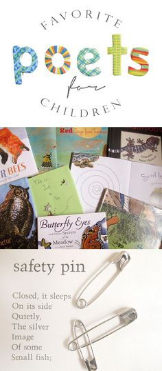 The best poets for introducing kids and teens to poetry. Perfect list for encouraging reading!