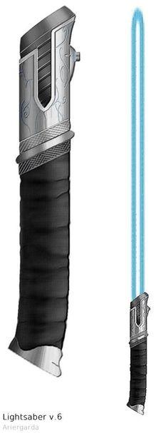 "Lightsaber v.6 ""Elven"" by Ariergarda.deviantart.com on @DeviantArt If I could own a lightsaber it would look like this"
