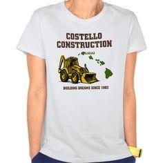 Costello Construction Tee T Shirt, Hoodie Sweatshirt