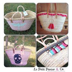Descubre nuestros exclusivos capazos/ paniers/ straw bags/ beach totes/ summer bags/ cestas/ baskets