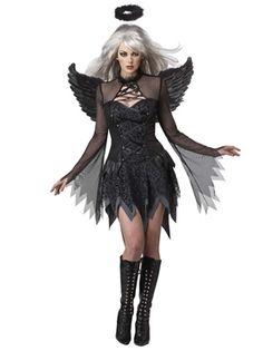 Adult Fallen Angel Costume by Fancy Dress Ball