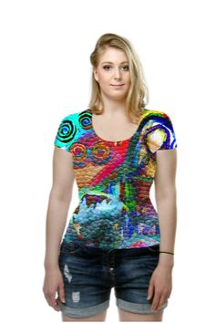 By Karsten Mouras, OArtTee specializes in creating amazing, vibrant and colorful Wearable Art