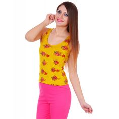 Yellow Mellow Tank top