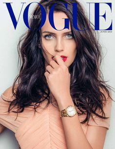 Amanda Wellsh for Vogue Mexico by Jacques Dequeker