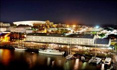 Find luxury accommodation in the Victoria and Alfred Hotel at the V&A Waterfront, one of the country's most beautiful destinations. Ocean Aquarium, Cape Town Hotels, V&a Waterfront, Luxury Accommodation, Beach Holiday, Outdoor Pool, Lodges, Paris Skyline, Things To Do