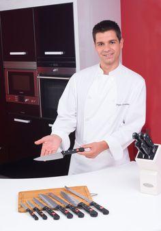 Fotografía del genial cocinero Sergio Fernandez de RTVE.