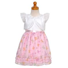 Peachy Kids Little Girls Size 6 White Bolero « Dress Adds Everyday