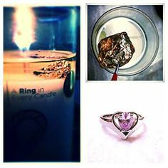 LOVE is in the Air - Diamond Candle 11 hrs left at 814 pm Diamond Candles, Candle Rings, Class Ring, Shot Glass, Valentines Day, Projects To Try, Great Gifts, Diy Crafts, Love