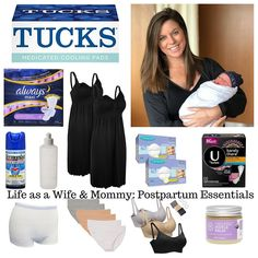 Postpartum Essentials ~ Life As A Wife & Mommy