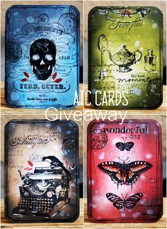 Lollyrot Scrapbooking: Halloween ATC cards GIVEAWAY *** Closed***