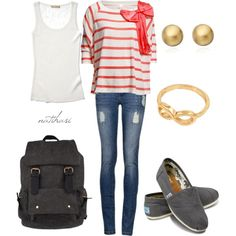 """Cute School Outfit"" by natihasi on Polyvore"