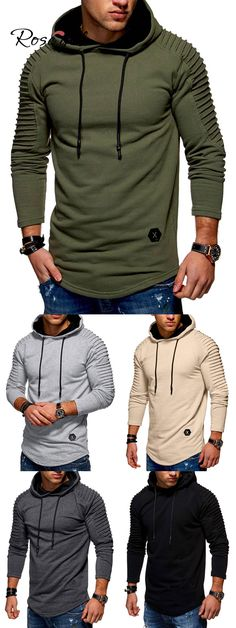 Mens Ark Survival Evolved Nordic Winter Personality Wild Long Sleeves Novelty Hoodies with Pocket