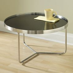 barstow cocktail table - available in three sizes/colors which can be nested together to create a unique layered look.