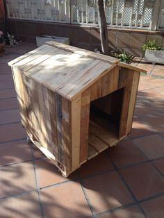 Caseta de perro #diseños #palets