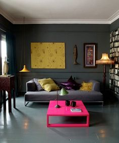 Vibrant Colors is the New Trend for Interiors that came from the Fashion World.