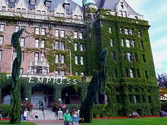 Empress Hotel. Victoria, Vancouver Island