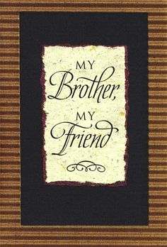 Christian Greeting Card for Brother or Church Brother's Birthday