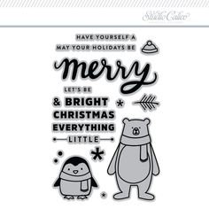 Stamp Set: Merry and Bright by In A Creative Bubble