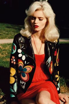 American Pop: Abbey Lee Kershaw by Alasdair McLellan for Vogue UK March 2012 70s Outfits, Hippie Outfits, Cute Outfits, Fashion Outfits, 70s Inspired Fashion, 1960s Fashion, Vintage Fashion, Vogue Uk, Estilo Retro