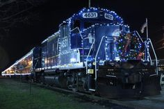 The Santa Express Train from the Blue Ridge Scenic Railway is one of the most treasured train rides in Georgia.