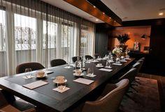 De #kamers in het #huis #restaurant hebben allemaal een eigen karakter. Zo ook de #vergaderruimtes