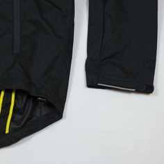 PEdALED Black Rainfrog jacket with expandable back