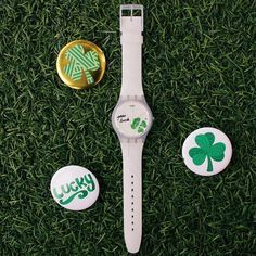 Don't get pinched this St. Patricks Day - add a hint of green to your wardrobe with the #Swatch EXCEPTIONNEL watch.  Visit http://swat.ch/StPatricks_US for some additional green-spiration. #ialwayswantmore #luck #StPatricksDay by swatchus