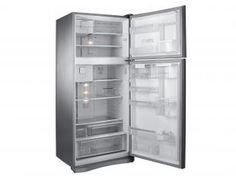 Geladeira/Refrigerador Electrolux Frost Free - Duplex 542L Inox c/ Dispenser Pure Filter DI80X