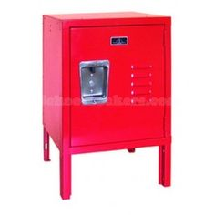 Red Mini Kids Locker