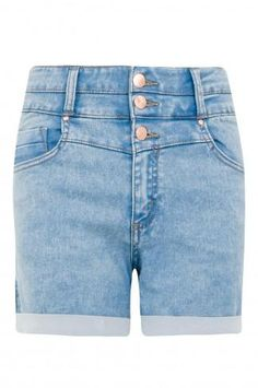 Deep Cobalt Steph High Waisted Shorts #shorts #covetme