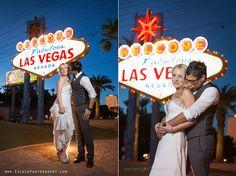 Las Vegas Strip Photo Tour - Las Vegas Wedding Photographer, Exceed Photography, Vegas Wedding Photos, Las Vegas Sign