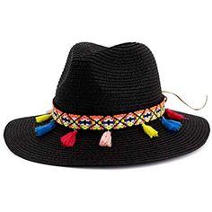 Cappello Panama Paglia Fedora Borsalino Cappello Sole viaggio orlo largo uomo donna estate