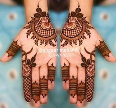 Gorgeous Eid Al-Adha Mehndi Designs 2019 - Kosmetik Nageldesign - Henna Designs Hand Easy Mehndi Designs, Henna Hand Designs, Dulhan Mehndi Designs, Latest Mehndi Designs, Bridal Mehndi Designs, Round Mehndi Design, Mehndi Designs Finger, Mehndi Designs For Girls, Mehndi Designs For Beginners