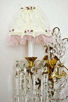 Cute chandelier and cover