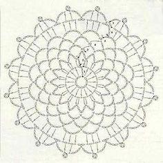 Anabelia craft design: 15 minutes made crochet doilies, free pattern Crochet Snowflake Pattern, Crochet Doily Diagram, Crochet Doily Patterns, Crochet Snowflakes, Crochet Art, Crochet Round, Crochet Home, Love Crochet, Crochet Doilies
