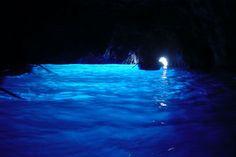 青の洞窟 イタリア