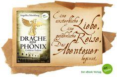 Der erste Band der historischen Fantasy-Saga, die Jahrhunderte überspannt und an die schönsten Orte der Welt entführt: spannend, berührend, faszinierend. - Eine kostenlose XXL-Leseprobe aus Angelika Monkbergs DRACHE UND PHÖNIX: GOLDENE FEDERN steht hier zum Download für euch bereit: http://www.dotbooks.de/e-book/232820/drache-und-phoenix-goldene-federn-xxl-leseprobe