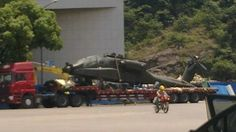A U.S. Apache attack helicopter appears in China. Did they clone it?