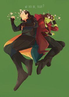 Loki & Gamora